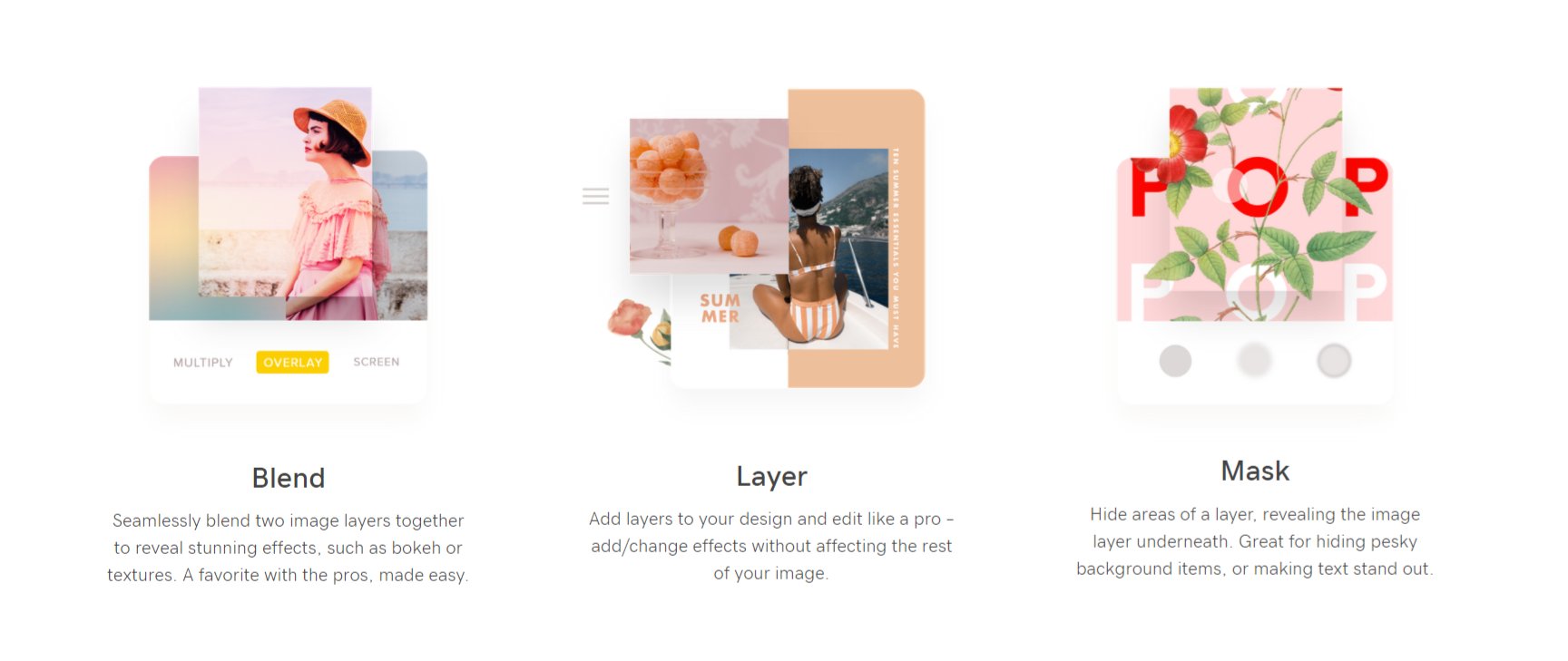 the over app for making mood boards