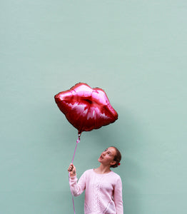 Lip foil Balloon