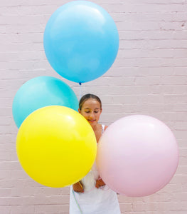 Pastel Jumbo Balloon Pack