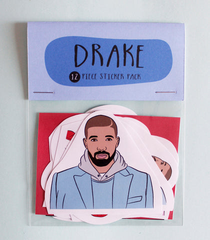 Drake Sticker Pack