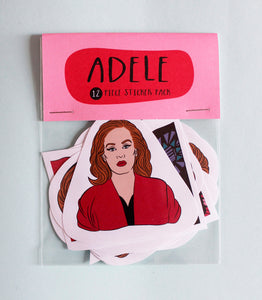 Adele Sticker Pack