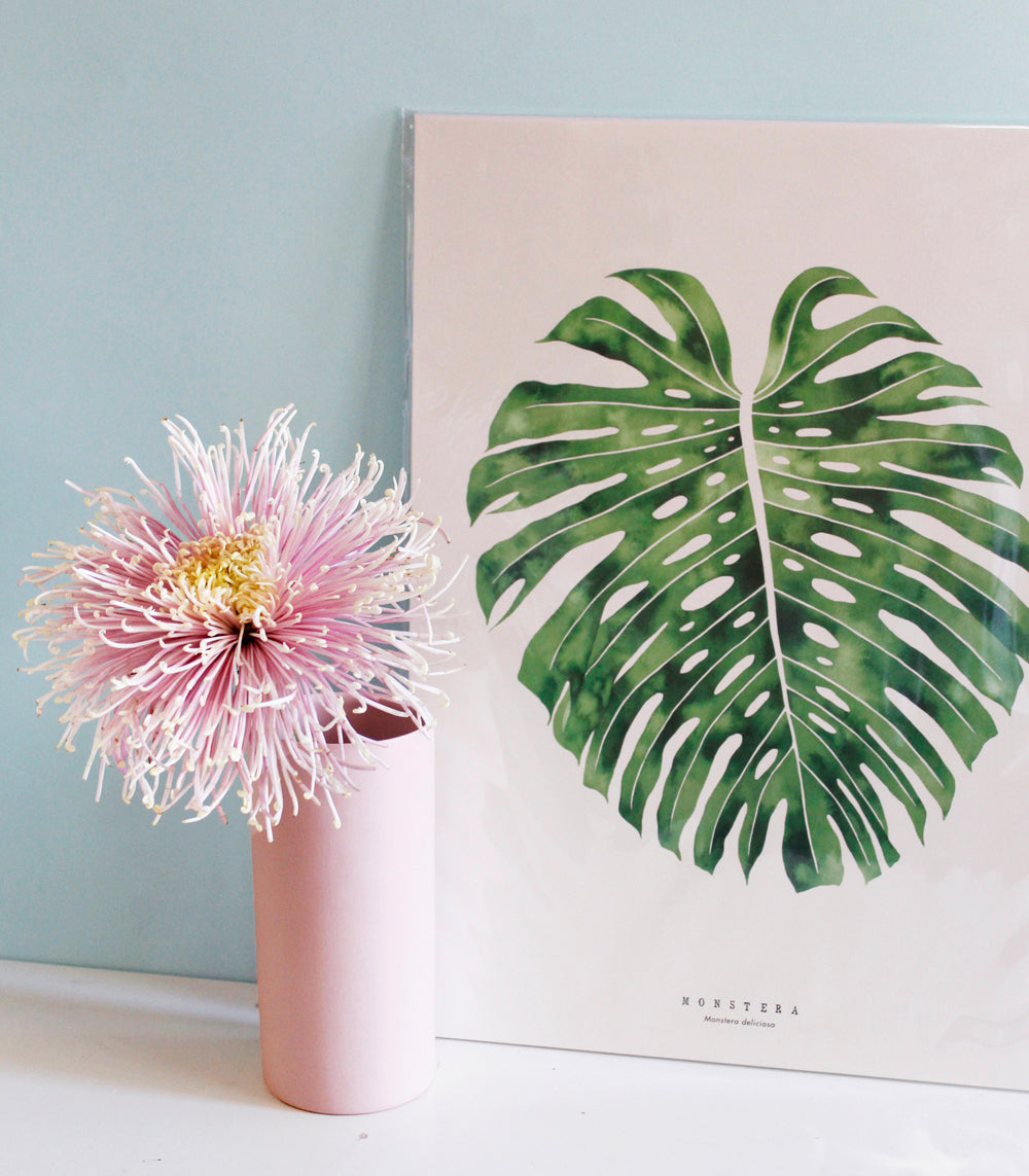 Living Pattern - Monstera Print