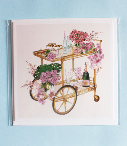 Drinks Trolley card
