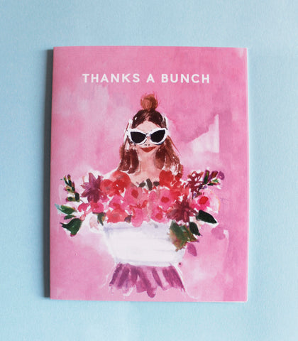 'Thanks a Bunch' card