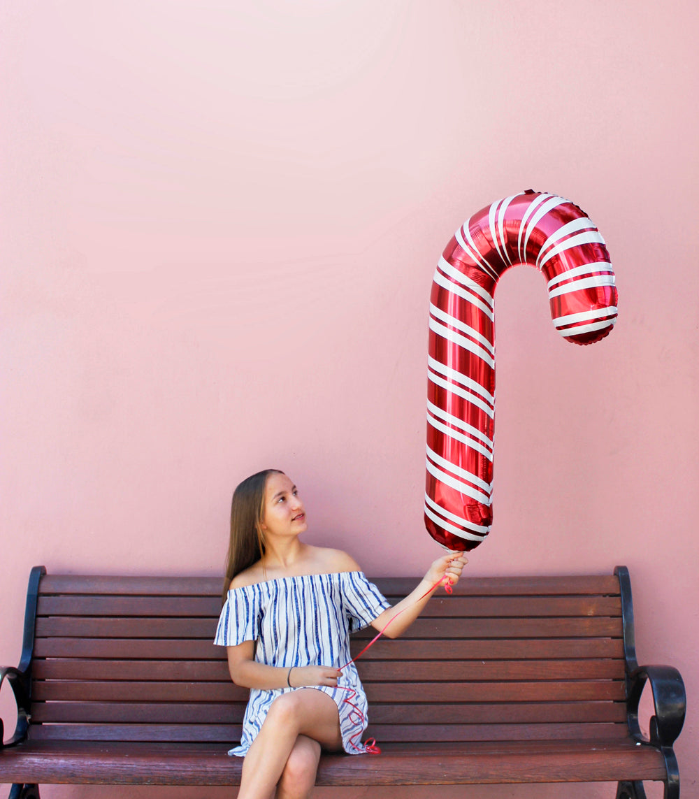 Candy Cane Jumbo balloon