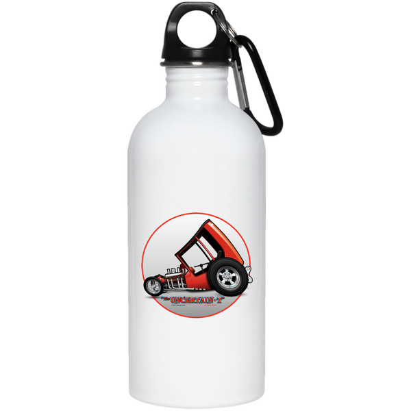 Uncertain-T Design #04 on 20 oz. Stainless Steel Water Bottle