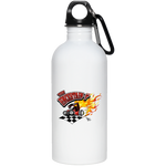 Uncertain-T Design #13 on 20 oz. Stainless Steel Water Bottle