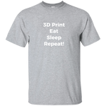 Eat, Sleep, Repeat! - on 11 color tees!