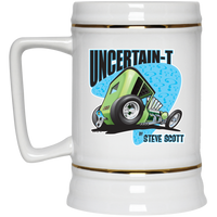 Uncertain-T Design #07 on 22 oz. Beer Stein