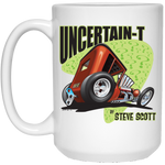 Uncertain-T Design #08 on 15 oz. White Mug
