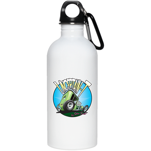 Uncertain-T Design #05 on 20 oz. Stainless Steel Water Bottle