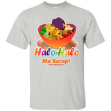 Halo-Halo Ma Sarap Bowl, Large Image, on Light Tees