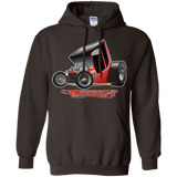 """The Uncertain-T"" Famous Hot Rod Design #01 on Gildan 8 oz. Pullover Hoodie"
