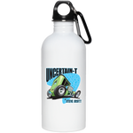 Uncertain-T Design #07 on 20 oz. Stainless Steel Water Bottle