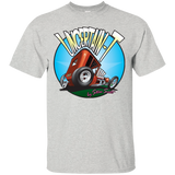 """The Uncertain-T"" Famous Hot Rod Tee Shirt design #6 on Ash Tee"