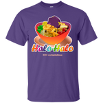 Halo-Halo Bowl, Large Image, on Dark Tees