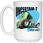 Uncertain-T Design #07 on 15 oz. White Mug