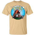 """The Uncertain-T"" Famous Hot Rod Tee Shirt design #6 on Vegas Gold Tee"