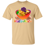 Halo-Halo Bowl, Large Image, on Light Tees