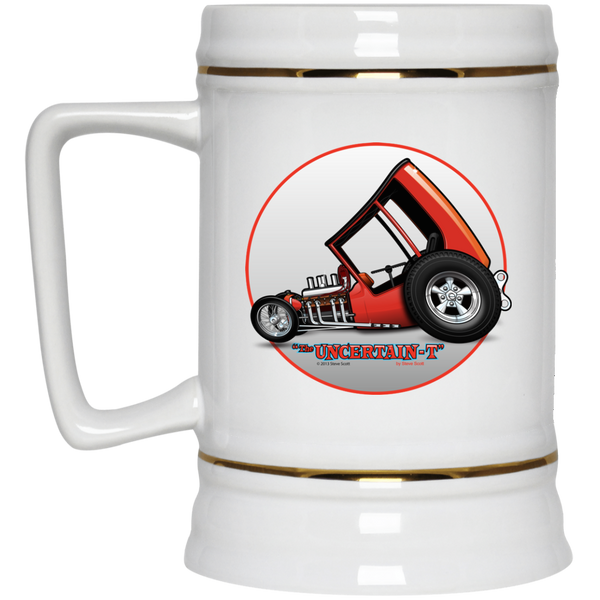 Uncertain-T Design #04 on 22 oz. Beer Stein