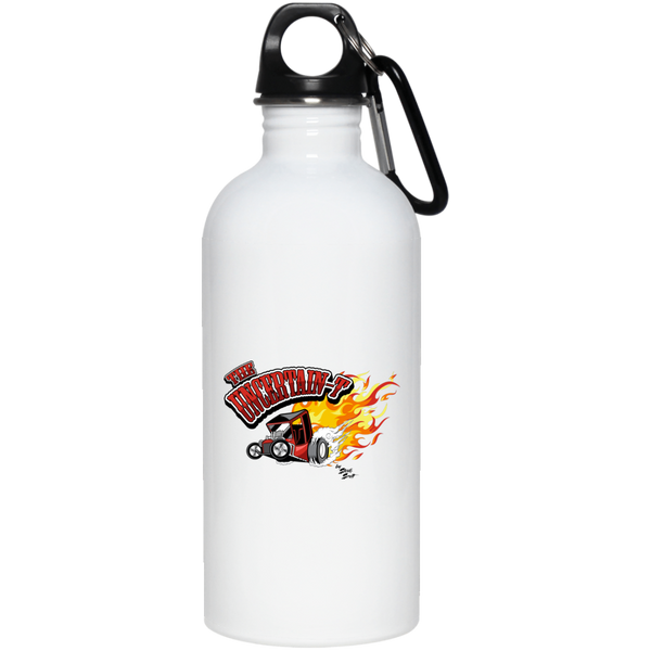 Uncertain-T Design #11 on 20 oz. Stainless Steel Water Bottle