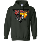 Uncertain-T Design #14 on Gildan 8 oz. Pullover Hoodie