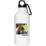 Uncertain-T Design #08 on 20 oz. Stainless Steel Water Bottle