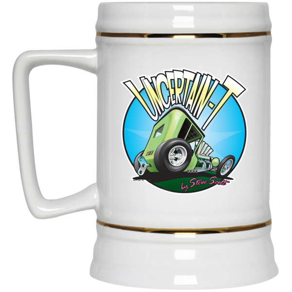 Uncertain-T Design #05 on 22 oz. Beer Stein
