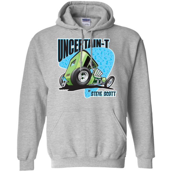 Uncertain-T Design #07 on Gildan 8 oz. Pullover Hoodie