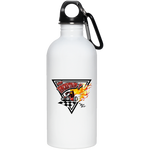 Uncertain-T Design #14 on 20 oz. Stainless Steel Water Bottle