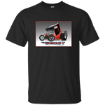 """The Uncertain-T"" Famous Hot Rod T-shirt #02 - on 11 color tees!"