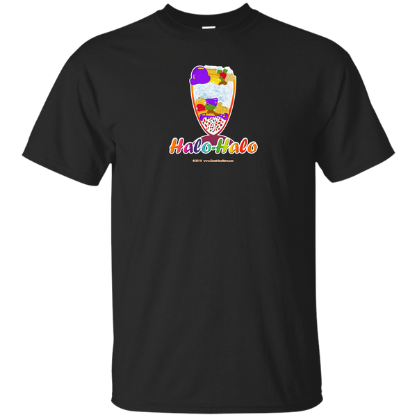 Halo-Halo Tall Dessert Bowl, Small Image, on Dark Tees