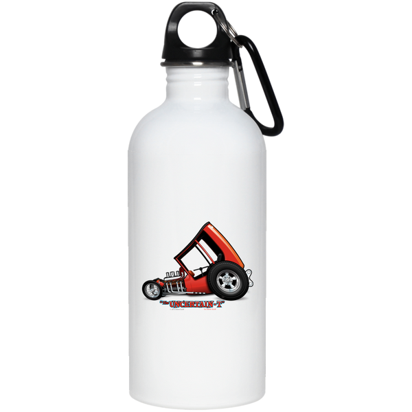 Uncertain-T Design #03 on 20 oz. Stainless Steel Water Bottle