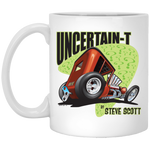 Uncertain-T Design #08 on 11 oz. White Mug