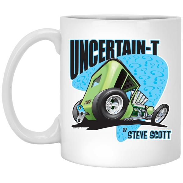 Uncertain-T Design #07 on 11 oz. White Mug