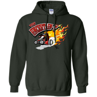 Uncertain-T Design #12 on Gildan 8 oz. Pullover Hoodie