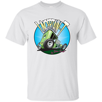 """The Uncertain-T"" Famous Hot Rod Tee Shirt design #5 on White Tee"