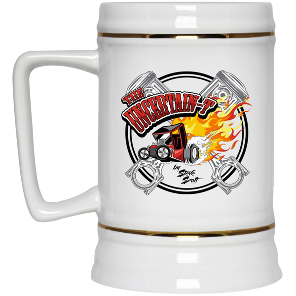 Uncertain-T Design #15 on 22 oz. Beer Stein