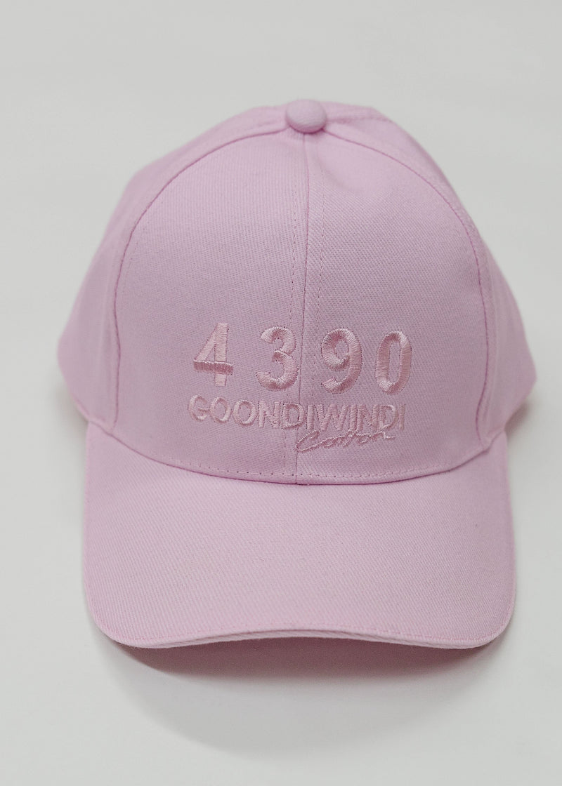 Embroidered # 4390 Logo Musk Pink Cap