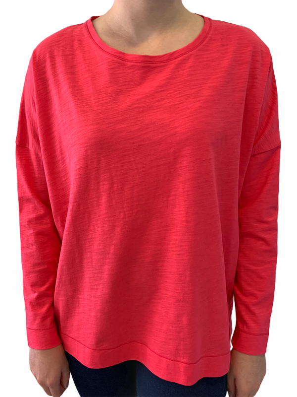 Berry 100% Cotton Relaxed Tee Shirt