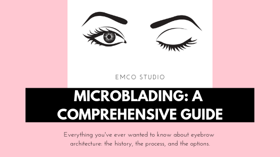 Microblading and feathering guide branded content