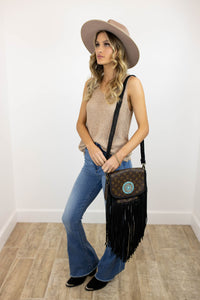 World Traveler Large with Zuni Concho Black (2253149569072)