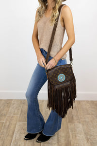 World Traveler Large with Zuni Concho Chocolate (2253149634608)