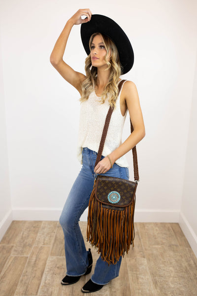 World Traveler Large with Zuni Concho Golden (2253149765680)