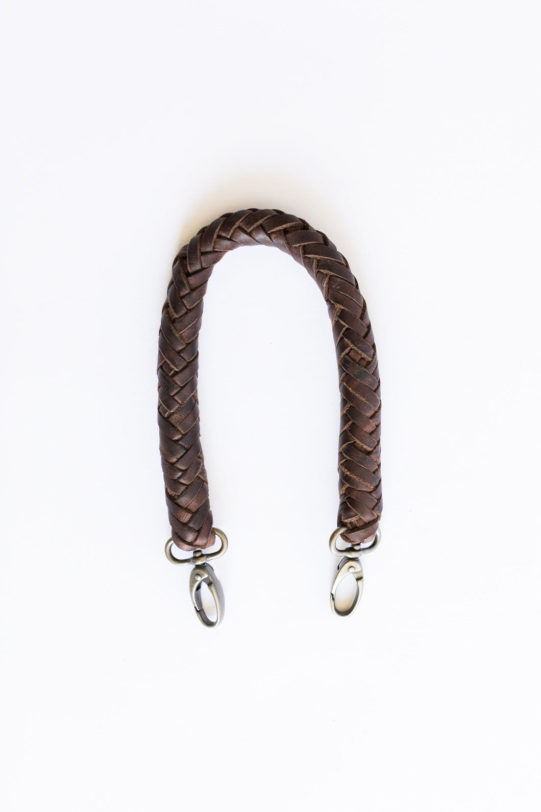 Shorty Braided Strap Chocolate (3832649613360)