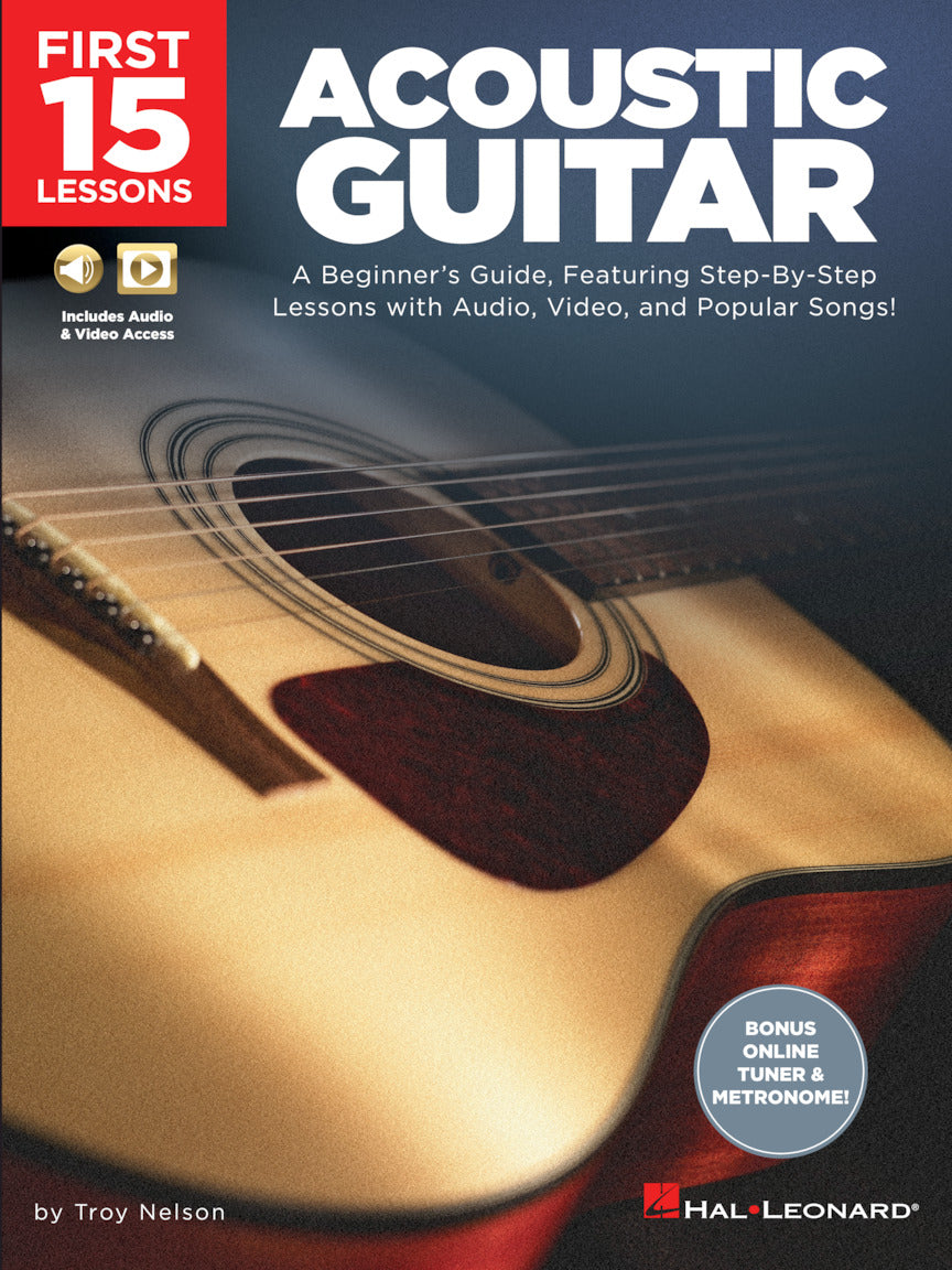First 15 Lessons – Acoustic Guitar