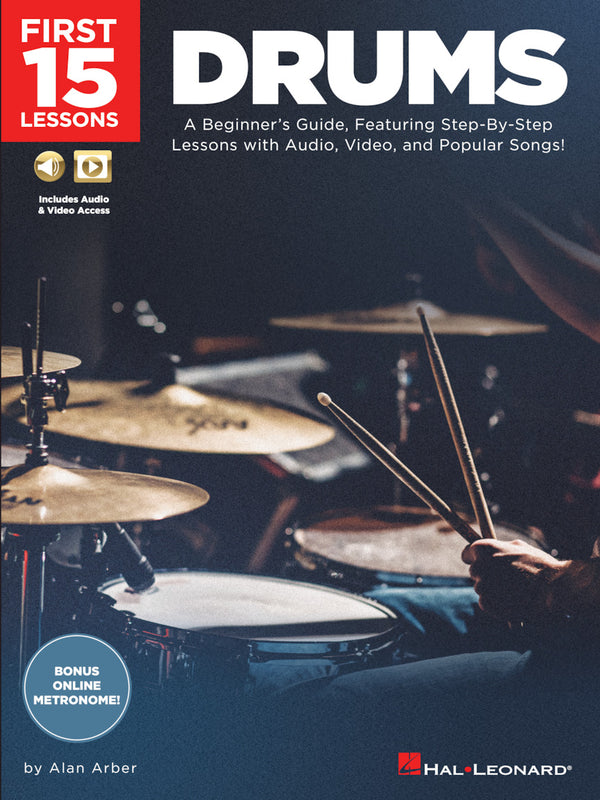 First 15 Lessons – Drums