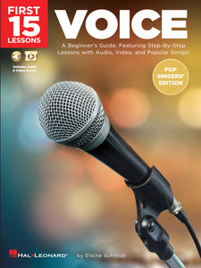 First 15 Lessons – Voice (Pop Singers' Edition)