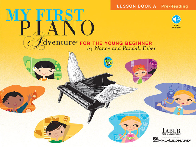 Hal Leonard Faber Piano Adventures® My First Piano Adventures - Lesson Book A - Pre-Reading - With CD and Online Audio
