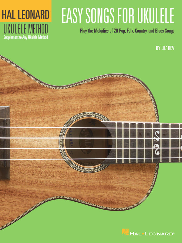 EASY SONGS FOR UKULELE Hal Leonard Ukulele Method